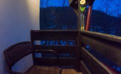Balcon camera dubla